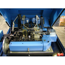 MACHINE A DRESSER, COUPER ET USINER LES EXTREMITES type MJE.